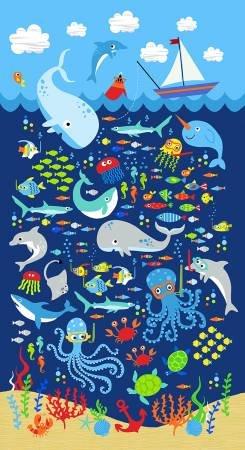 Sea Creatures Panel