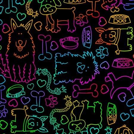 Rainbow Dog - C7031