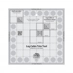 Creative Grid -8 in. Log Cabin Trim Ruler