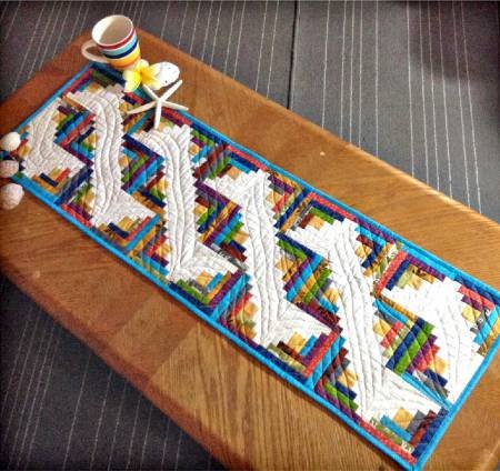 Cut Loose Press- Along the Nile Table Runner