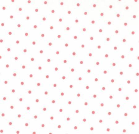 Moda Essential Dots 8654/69 White Peony