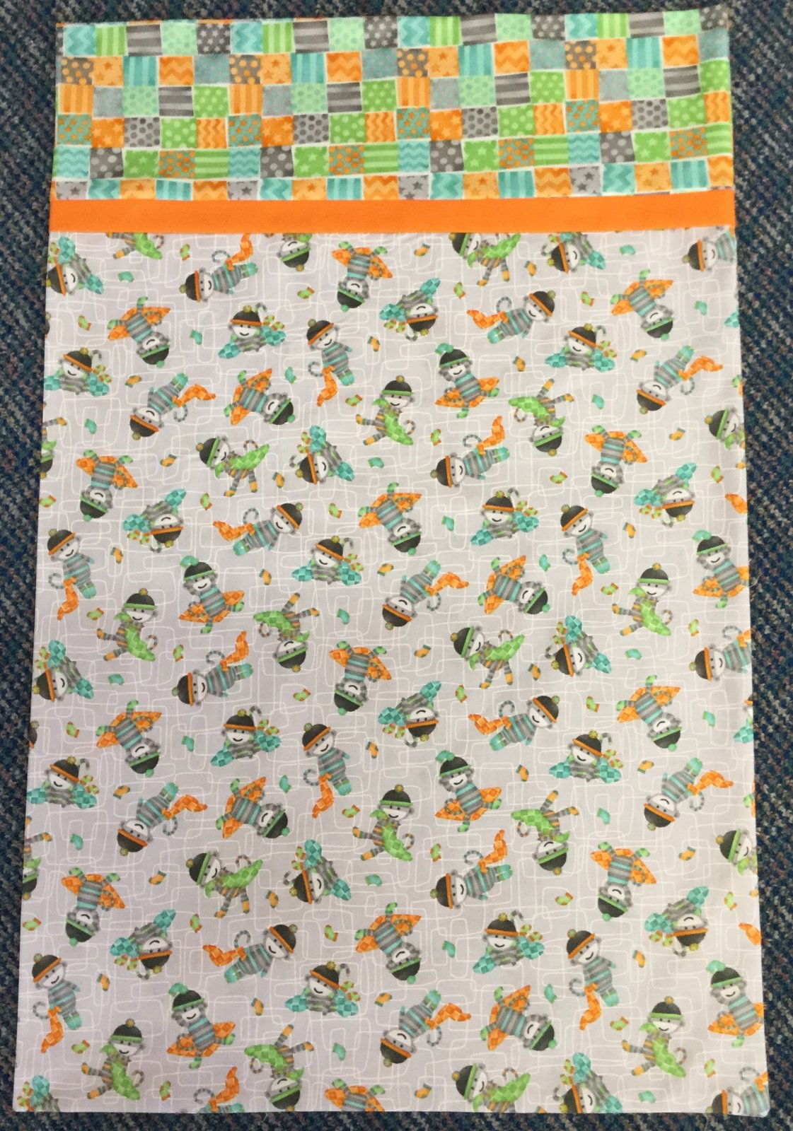 Pillowcase Kit-Monkey Business