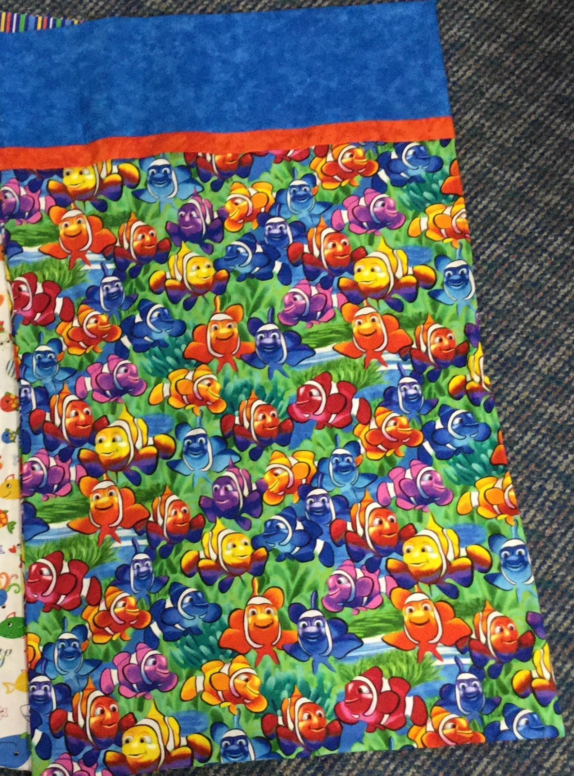 Pillowcase Kit-Clown Fish