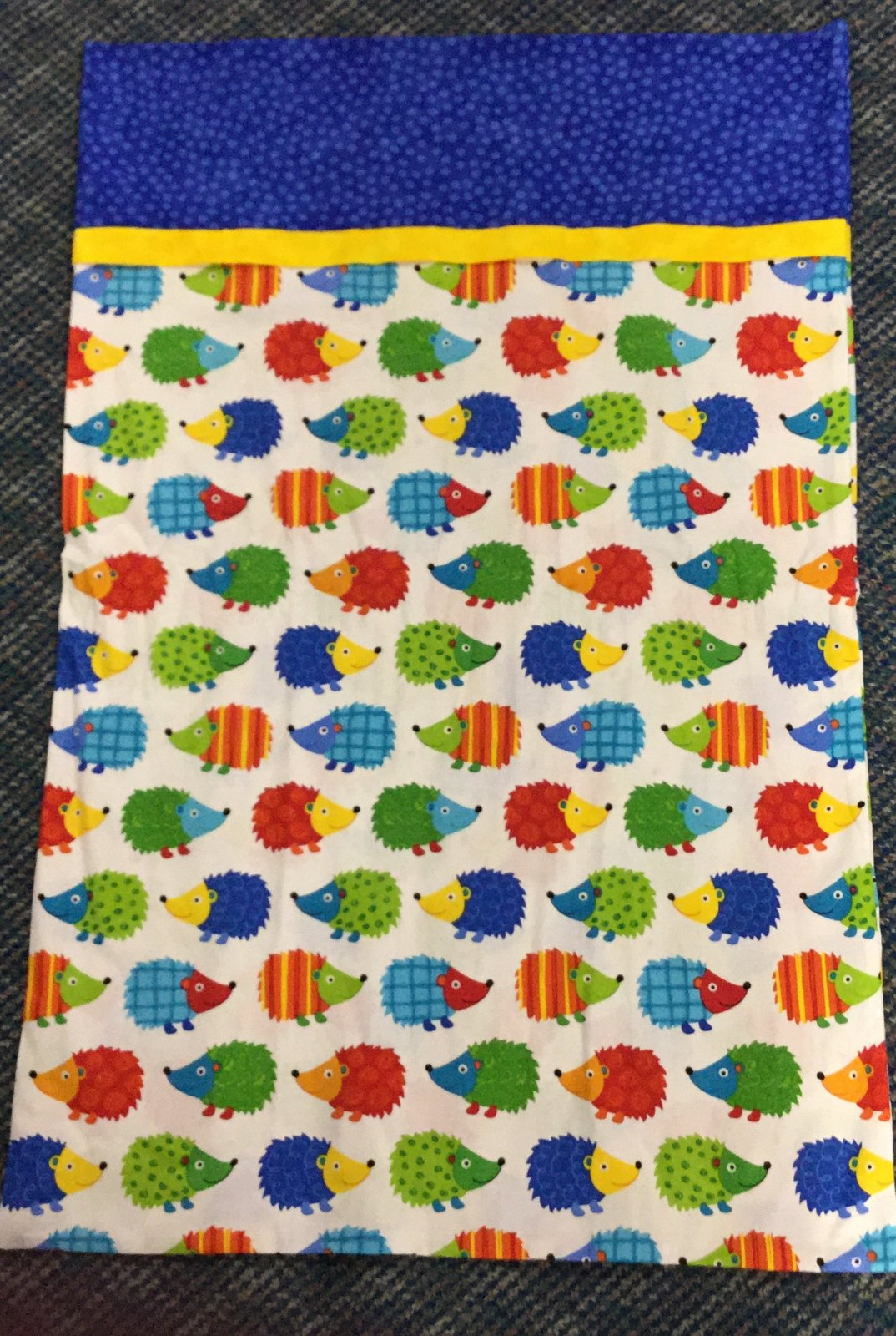 Pillowcase Kit-Hedgehog