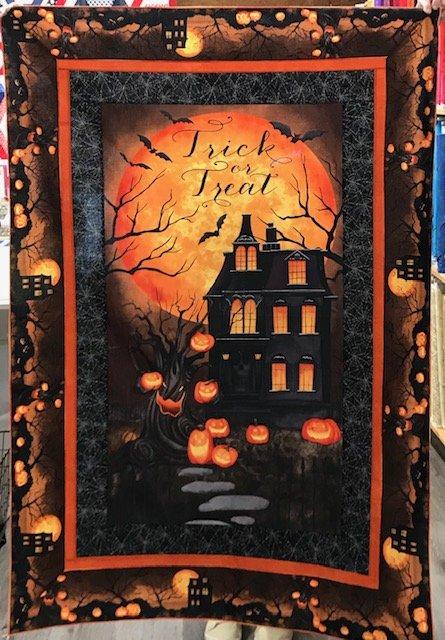 Haunted Night Panel Quilt
