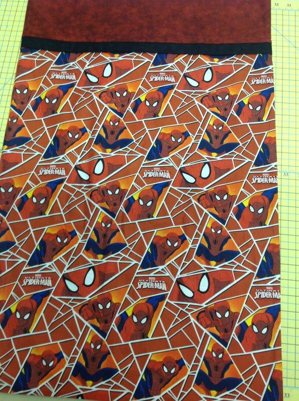 Pillowcase Kit-Red Spiderman
