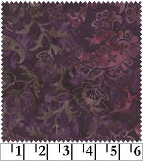 Java Batiks-Purple