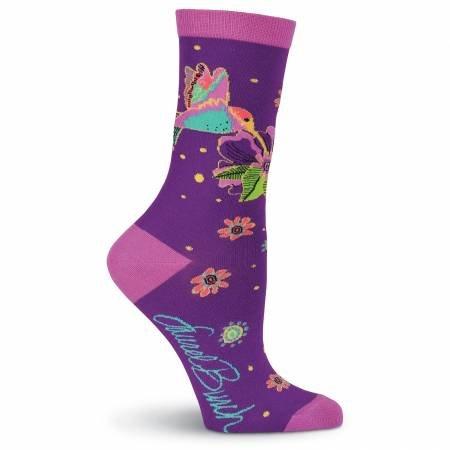 Laurel Burch Hummingbird Socks