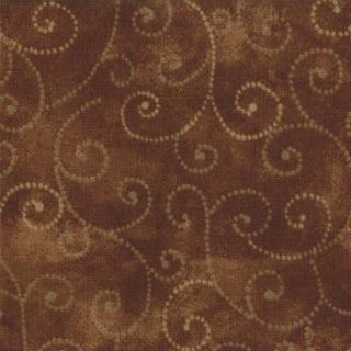 Moda Swirls - Chocolate 9908/81
