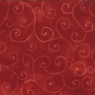 Moda Swirls - Cardinal 9908/89
