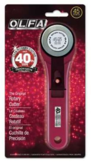 Olfa Ruby Red 45 MM Rotary Cutter