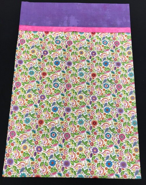 Pillowcase Kit-Floral Scroll