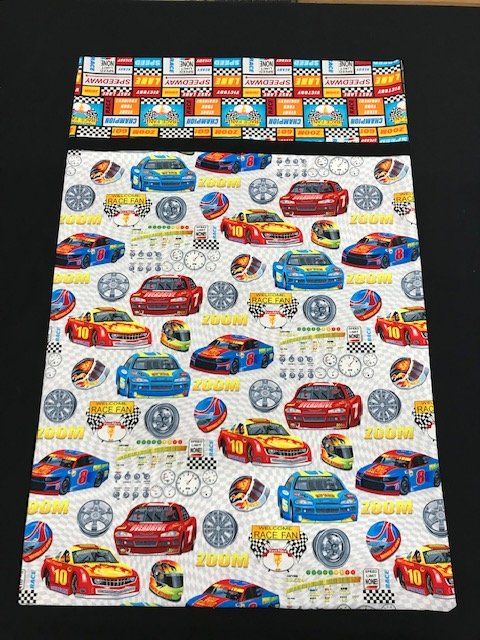 Pillowcase Kit-Racecar