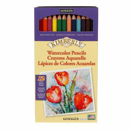 Pencil Watercolor Set-12 Ct.