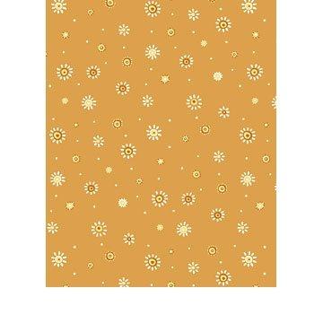 Zoe-Orange Flower Print