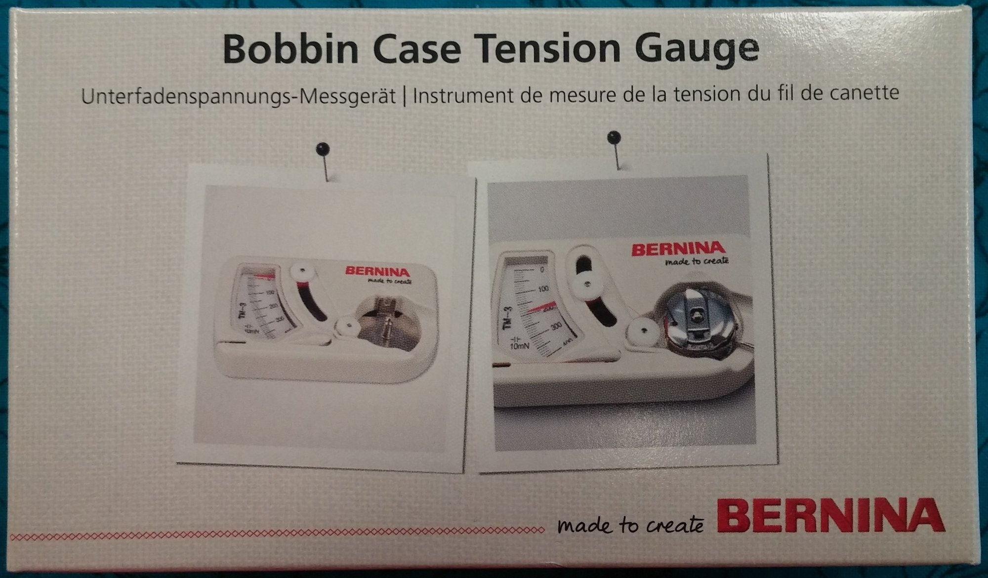Bobbin Case Tension Gauge