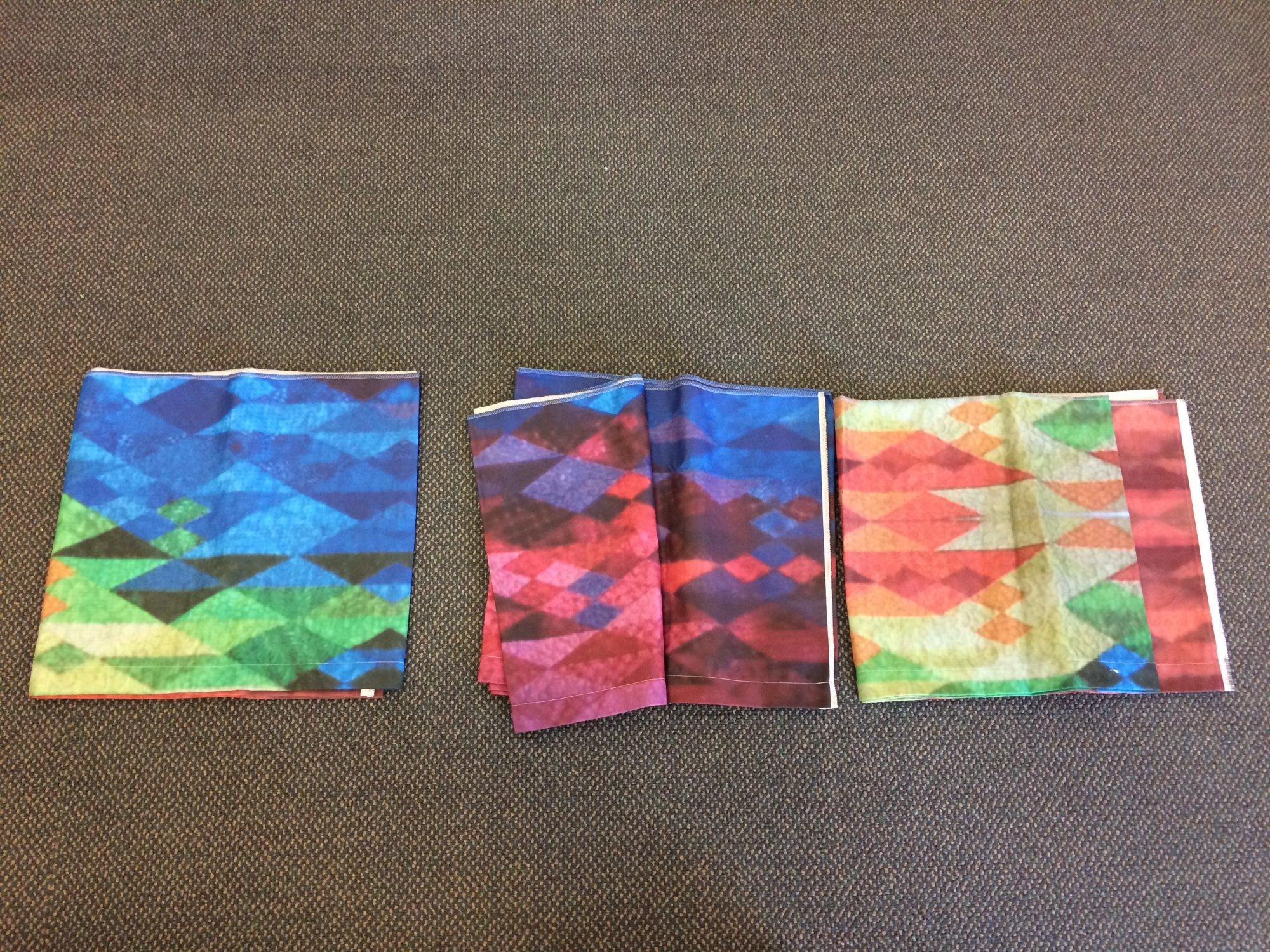 Custom Print Cloth Leaders, 144
