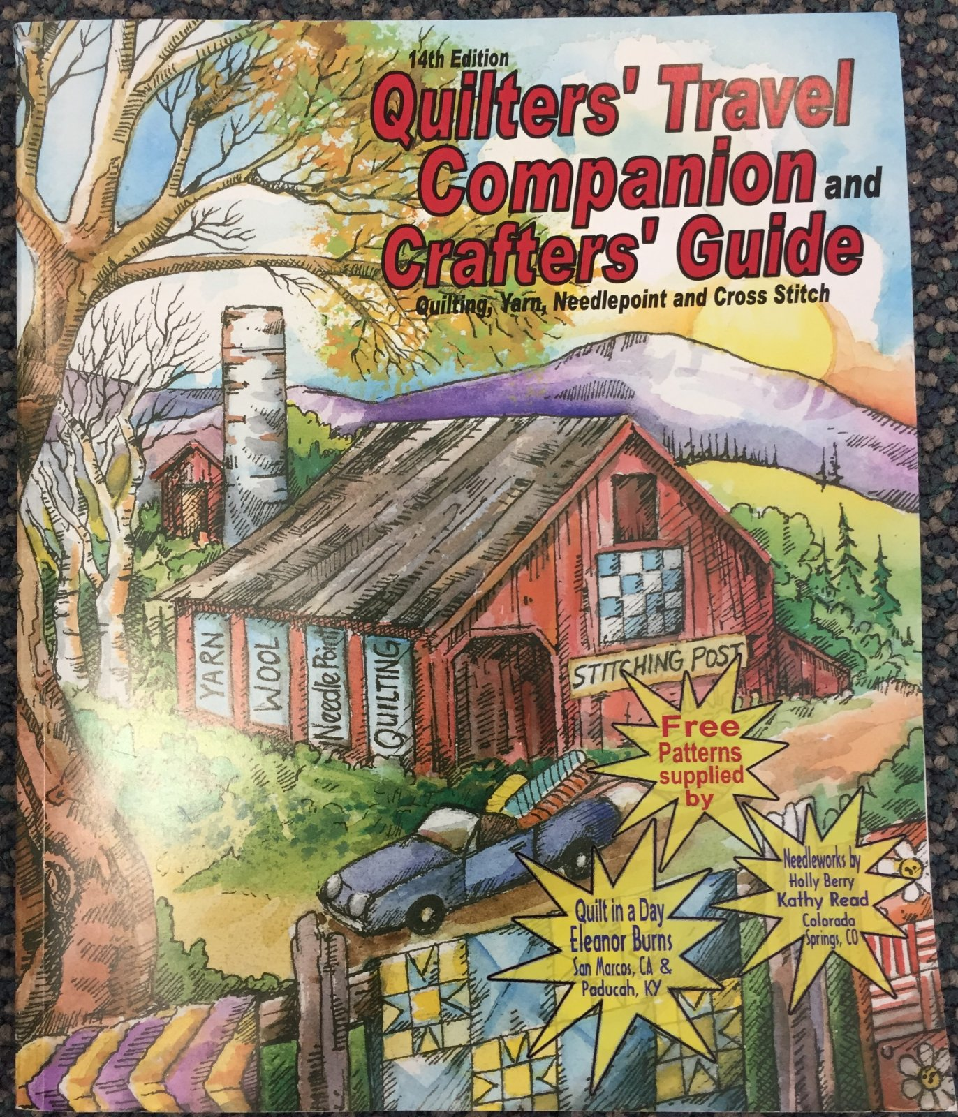 Quilter's Travel Companion & Crafters' Guide