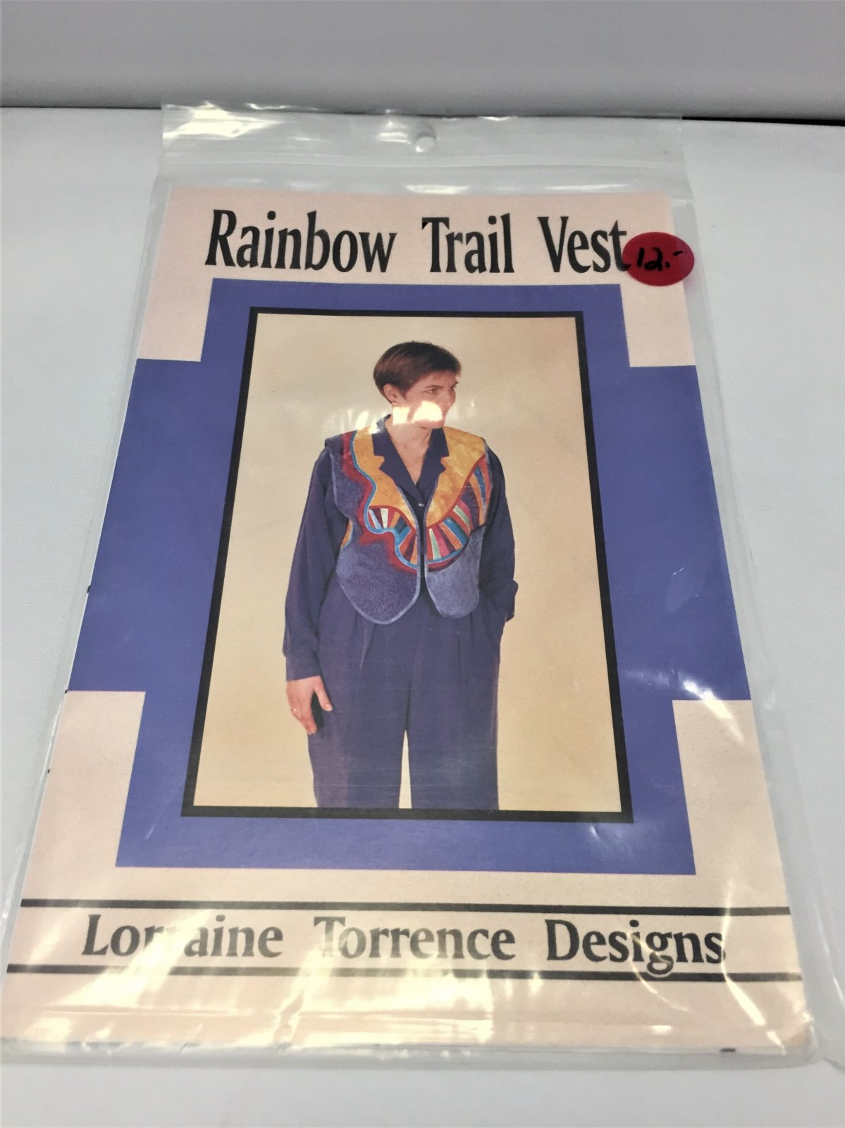 Rainbow Trail Vest