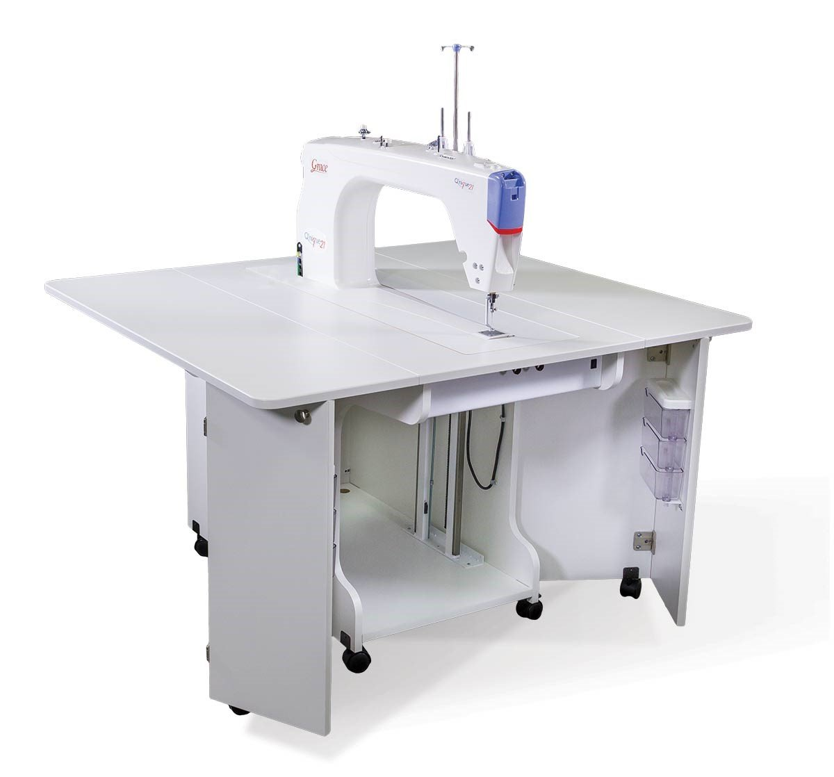 2 Qnique Sit Down Table Quilting Options : sit down quilting machine - Adamdwight.com