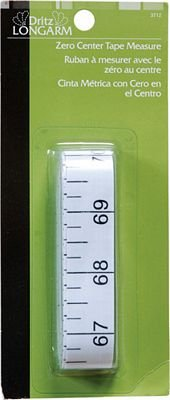 Zero Center Tape Measure