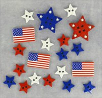B1105 Patriotic Shapes