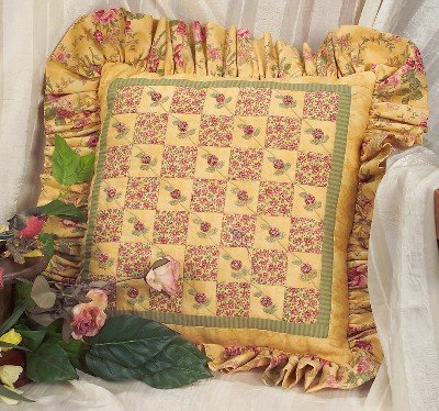 111 Little Rosebud Pillow