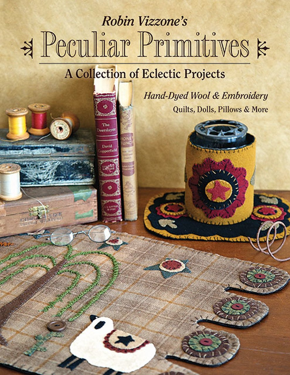 11228 Robin Vizzone's Peculiar Primitives?A Collection of Eclectic Projects