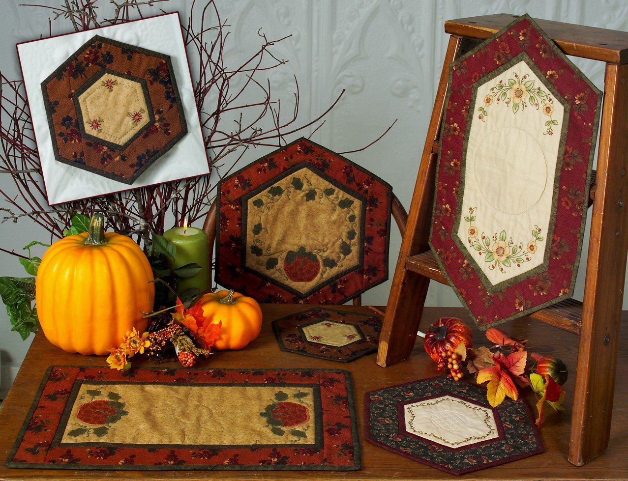 CDH-117 Autumn Table Charms