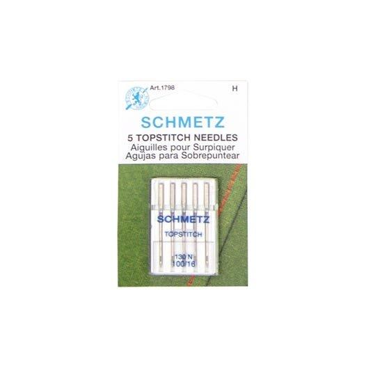 1798 schmetz topstitch needles 100/16