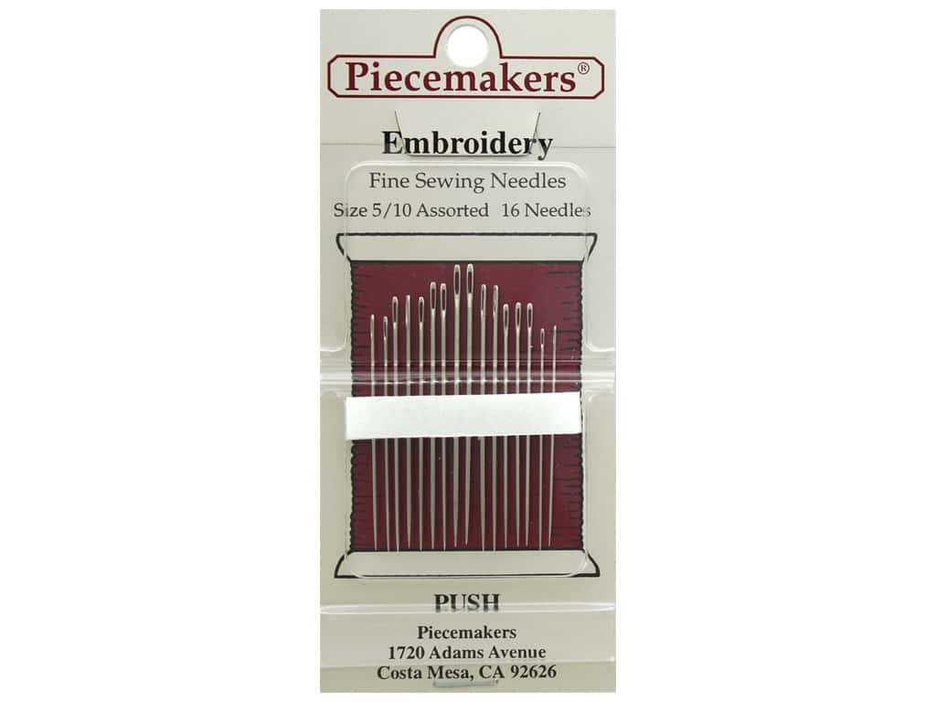 Piecemakers embroidery size 5/10 needles