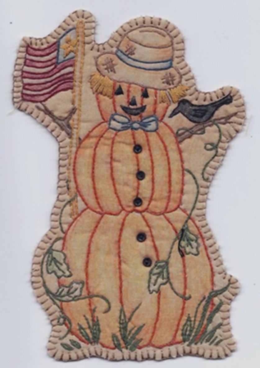 16 Vintage Autumn Pumpkin Man