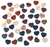 B1786 Mini Stitched Hearts