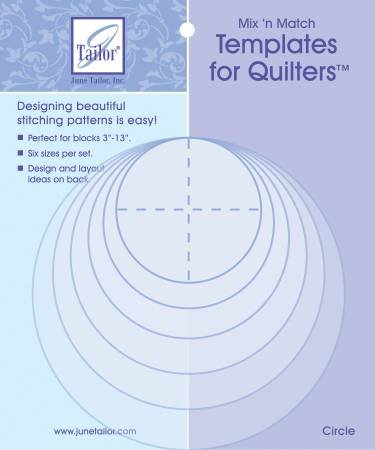 June Tailor Templates for Quilters