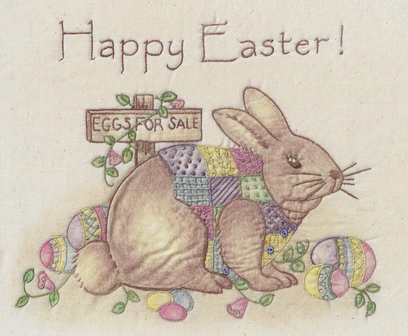 731N Happy Easter Bunny