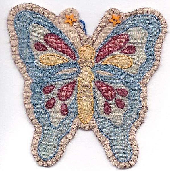 05 Vintage Patriotic Butterfly