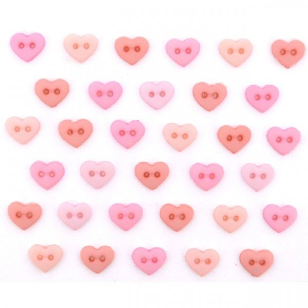 9533 Micro Mini Hearts ? Rose