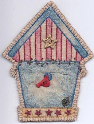 02 Vintage Patriotic Birdhouse