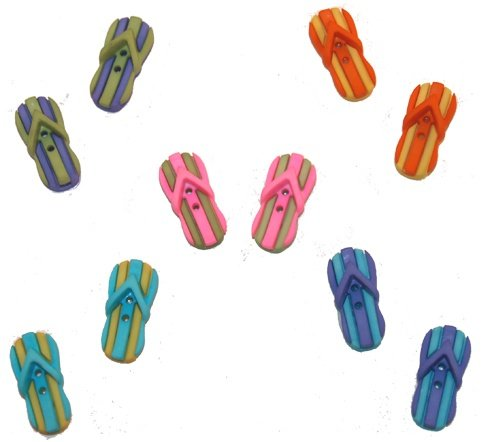B4875 Sew Thru Flip Flops