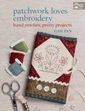 B1222 Patchwork Loves Embroidery - Softcover