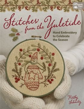 B1438 Stitches from the Yuletide - Hand Embroidery to Celebrate the Season