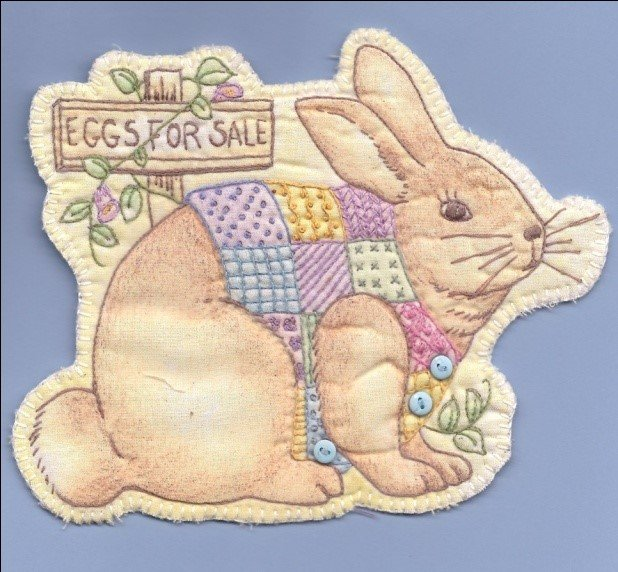 14 Bunny with Vest Heirloom Ornament
