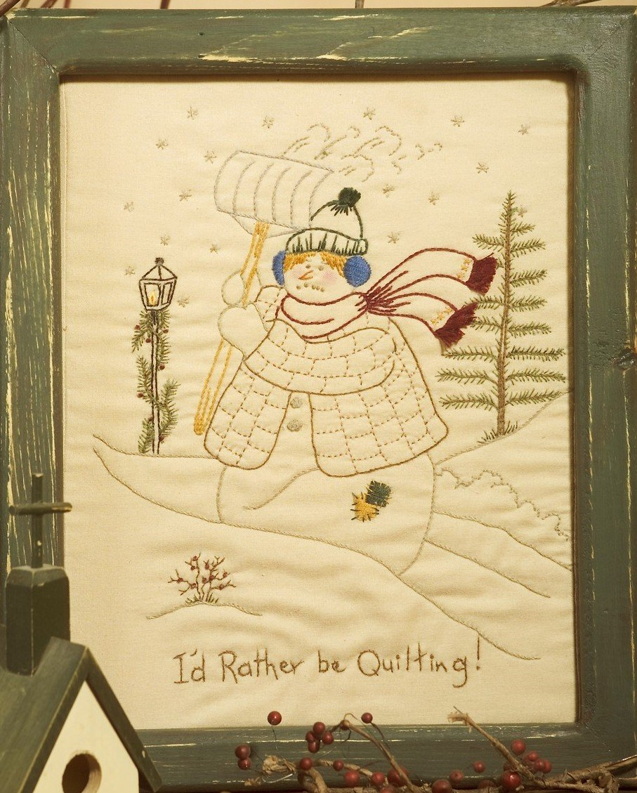 CDH308 I'd Rather Be Quilting PDF