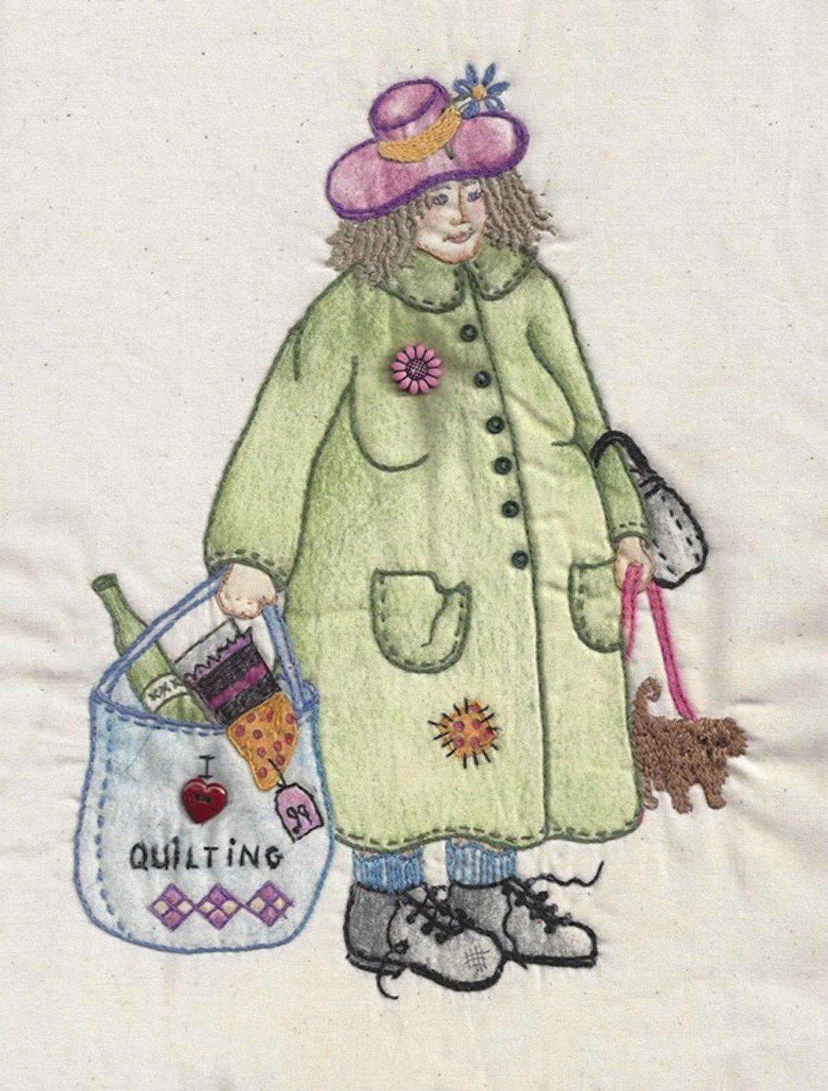 CDH320 Bag Lady Ernestine
