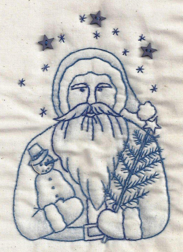 CK15B Santa Bust