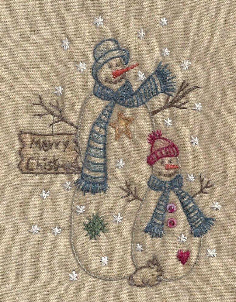 CK08T Merry Chistmas Snowman