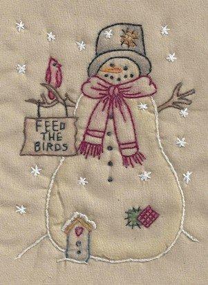 CK12T Feed The Birds Snowman