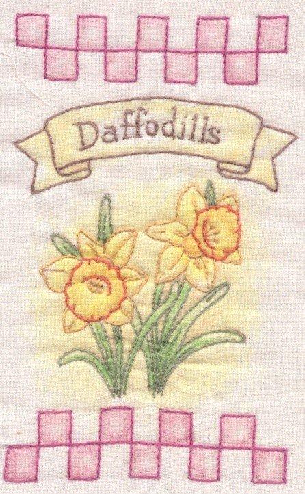 20 Daffodils Heirloom Ornament
