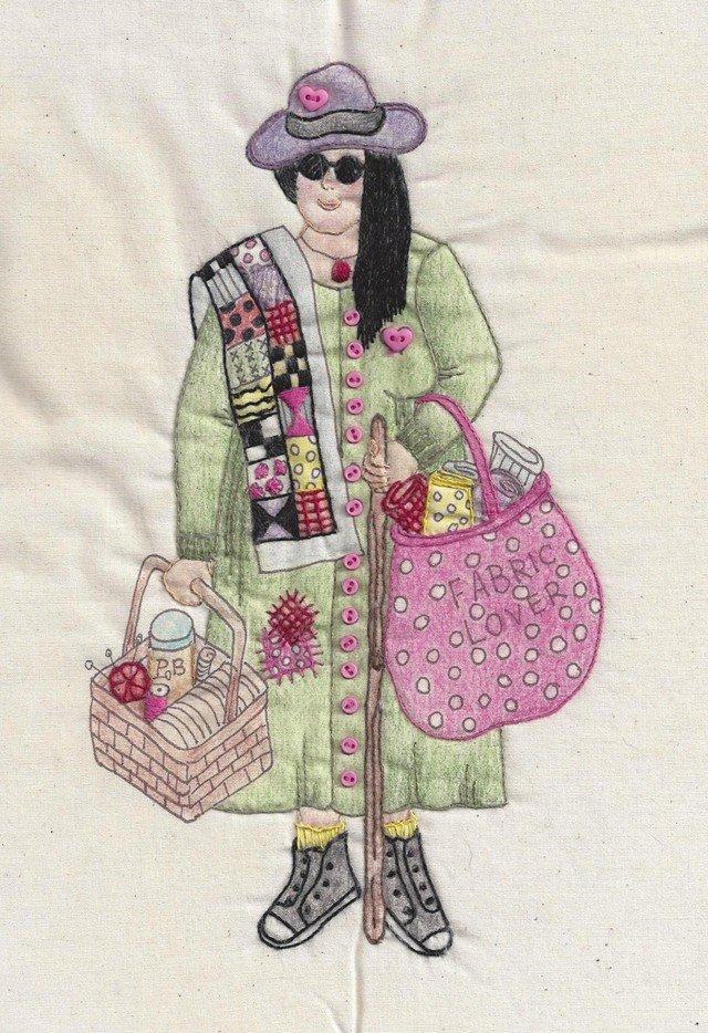CDH331 Bag Lady Earlene
