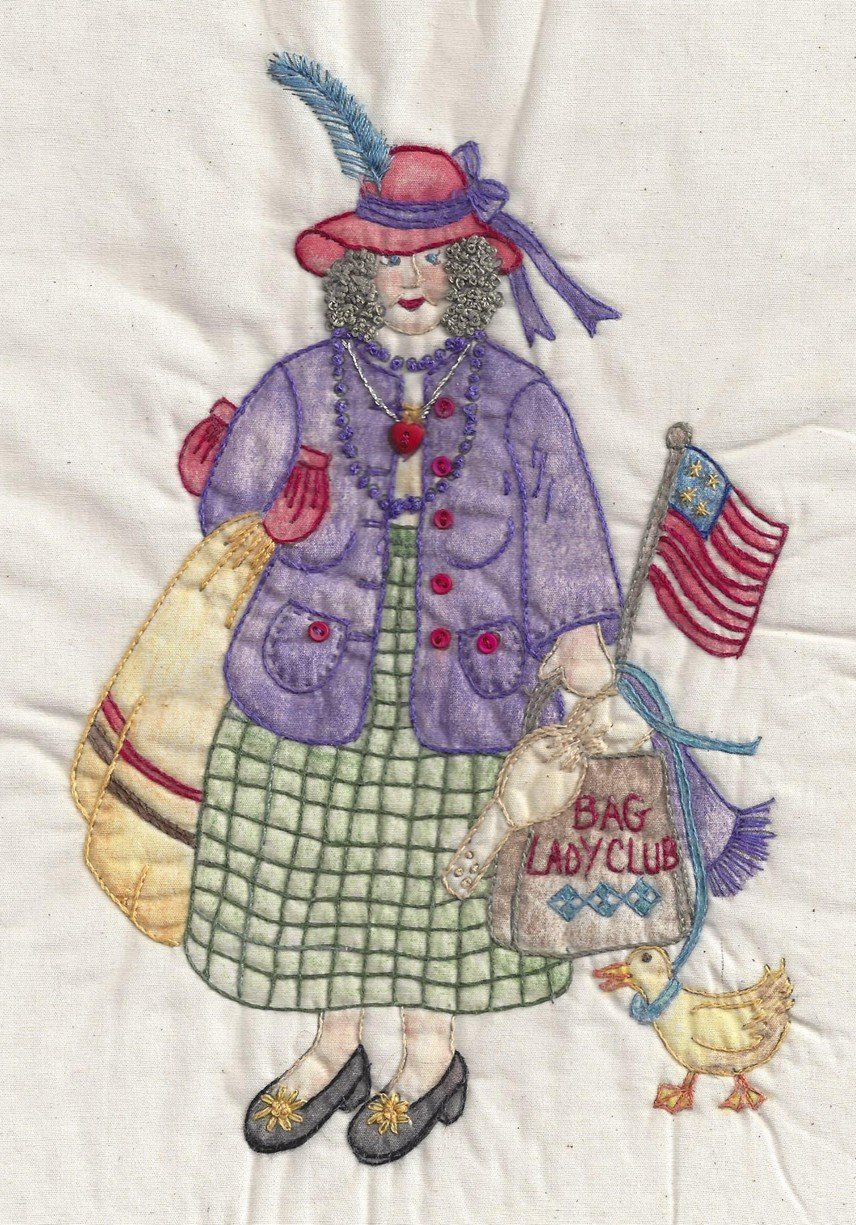 CDH323 Bag Lady Gertrude